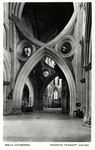 Wells –  Wells Cathedral – Inverted Transpet Arches