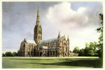 Salisbury – Salisbury Cathedral N.W.