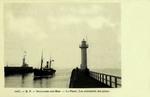 Boulogne-sur-Mer - Le Phare. Les extrémités des jetées