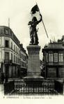 Compiègne - La Statue de Jeanne d'Arc