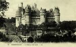 Pierrefonds - Le Château (côté nord)