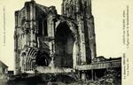 Crépy-en-Valois (Oise) - L'Église aprés le bombardement