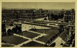 Paris - Perspective sur la place du Carrousel et le Louvre