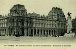 Paris - Le Nouveau Louvre - La Place du Carrousel - Monument de Gambetta