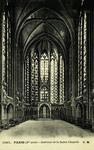 Paris - Intérieur de la Sainte Chapelle