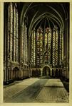 Paris - Intérieur de la Sainte Chapelle (Chapelle haute)