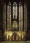 Paris - La Sainte-Chapelle: vitraux de la chapelle haute