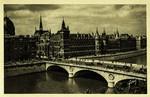 Paris - Le palais de Justice et le pont au Change