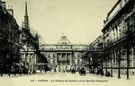 Paris - Le Palais de Justice et la Sainte-Chapelle