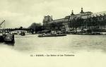 Paris - La Seine et les Tuileries