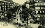 Paris - Le Boulevard Montmartre