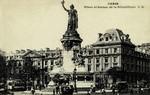 Paris - Place et Statue de la République