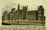 Paris - Hôtel de Ville, Façade prinicipale