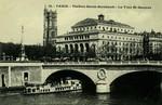 Paris - Théâtre Sarah Bernhardt - La Tour St-Jacques
