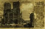 Paris - Notre Dame de Paris 1820