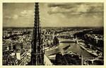 Paris - Vue panoramique prise de Notre-Dame