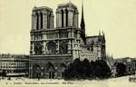 Paris - Notre Dame, vue d'ensamble