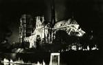 Paris - Notre-Dame  (Vue de nuit)