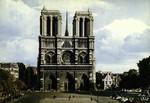 Paris - Façade de Notre-Dame