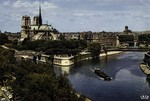 Paris - Notre-Dame et Jardins de l'Archevêché