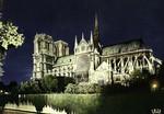 Paris - Notre-Dame illuminée