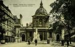 Paris - Eglise de la Sorbonne, Monument Auguste Comte