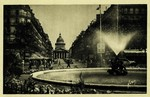 Place Edmond-Rostand, Rue Soufflot et la Panthéon