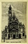 Paris - Eglise Saint Etienne du Mont