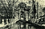 Paris - Le Jardin du Luxembourg - Fontaine Medici