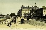 Paris - Le Quai d'Orsay et la Gare d'Orléans