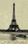 Paris - La Tour Eiffel et la Seine