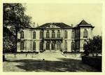 Paris - Hotel Biron. Vue sur le Parc