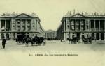 Paris - La Rue Royale et la Madeleine