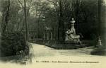 Paris - Parc Monceau - Monument de Maupassant
