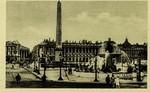 Paris - Place de la Concorde - Les Fontaines et l'Obelisque