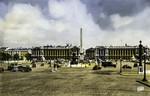 Paris - La Place de la Concorde et l'Hôtel Grillon