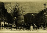 Paris - Boulevard de la Madeleine
