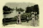 Paris - Bois de Boulogne, Le Lac