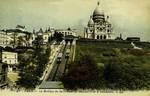 Paris - La Basilique du Sacré-Cœur de Montmartre et le Funiculaire