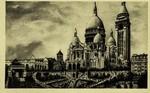 Paris - La Basilique du Sacré-Cœur avec l'Escalier monumental