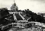 Paris - Le Sacré-Cœur de Montmartre et l'escalier monumental