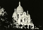 Paris, La Nuit - La Basilique du Sacré-Cœur illuminée