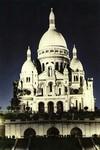 Paris - Le Sacré-Cœur illuminé