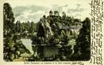 Paris - Buttes Chaumont - La Lanterne et le Pont suspendu