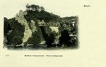 Paris - Buttes Chaumont - Pont suspendu, Paris