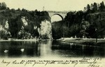 Paris - Les Buttes Chaumont - Le Pont de Briques