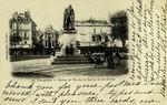 Versailles - Statue de Hoche et Eglise Notre-Dame