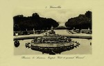 Versailles - Bassin de Latone, Tapis - Vert et grand Canal