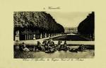 Versailles - Char d'Apollon, le Tapis - Vert et le Palais
