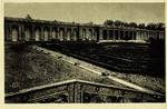 Versailles - Palais du Grand Trianon - Le Péristyle et les Jardins